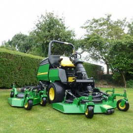 "2007 John Deere 1600 Turbo Wide Area Mower 128"" Cut"