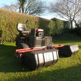 2005 Saxon Baroness LM184 3 Wheeled Triple Mower
