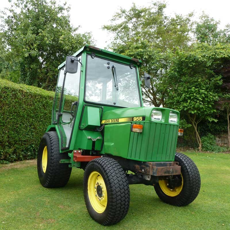 John Deere Compact Tractor With Full Mauser Cab