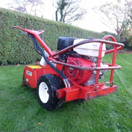Sold Used Barreto 1320 Hydraulic Rear Tine Tiller Rotovator