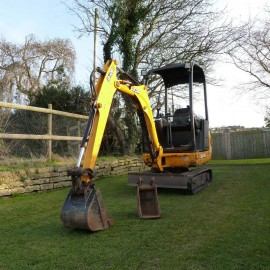 2011 JCB 8014CTS 1.5 tonne Mini Digger With 2 Buckets
