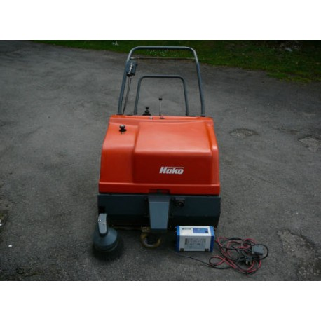 Hako Hamster 780E Walk Behind Floor Sweeper Battery Powered