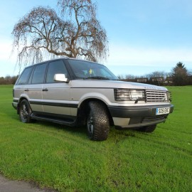 2001 second-generation P38A Range Rover 'Braemar' Limited Edition