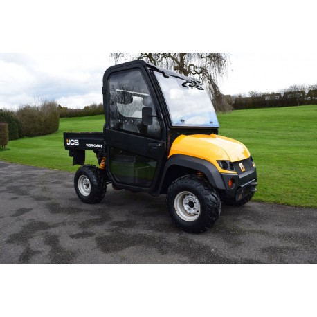 2012 JCB Workmax 800D UTV Utility Task Vehicle With Full Cab