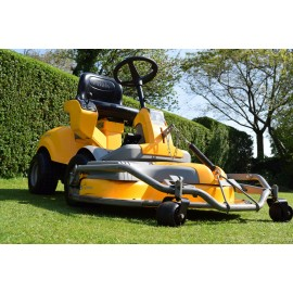 "2012 Stiga Park Plus HST 110cm/43"" Combi Deck Articulated Mower"