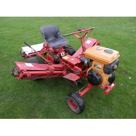 Saxon Triple MKII Ride On Cylinder Mower
