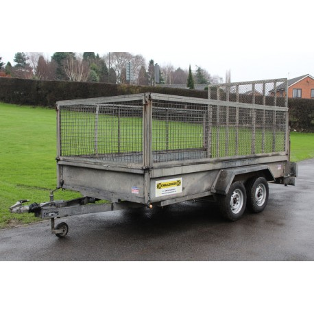 Indespension Twin Axle 2000kg Caged Trailer