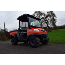 2010 Kubota RTV900 Diesel Utility Task Vehicle With Cab