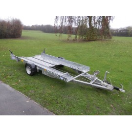 Ifor Williams Car Transporter Trailer CT115 G.V.W 1400kg