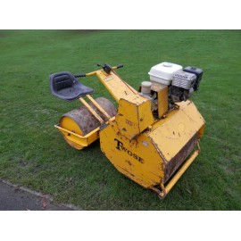 "Twose In-Line Twin Drum 24"" Sports Ground Roller"