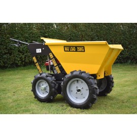 Unused 250kg Mini Dumper 4WD With Chain Drive Loncin Engine