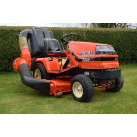 "1997 Kubota G1700 HST Ride On 48"" Rotary Mower With GCD420"
