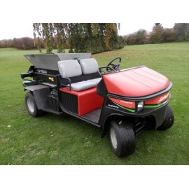 Cushman Turf Truckster With 1530TM Turfco Spreader