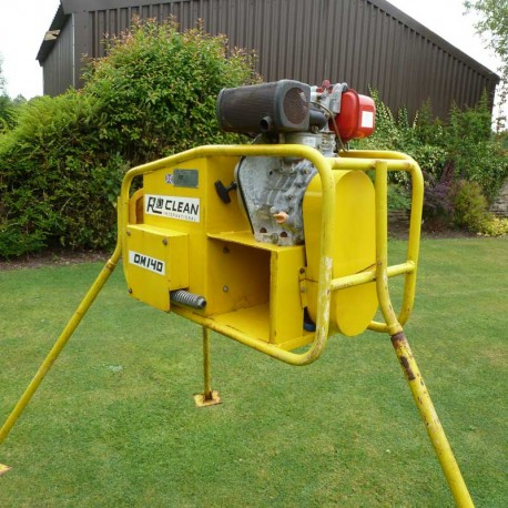 RO-Clean OM140D Oleophilic Oil Mop Skimming Unit
