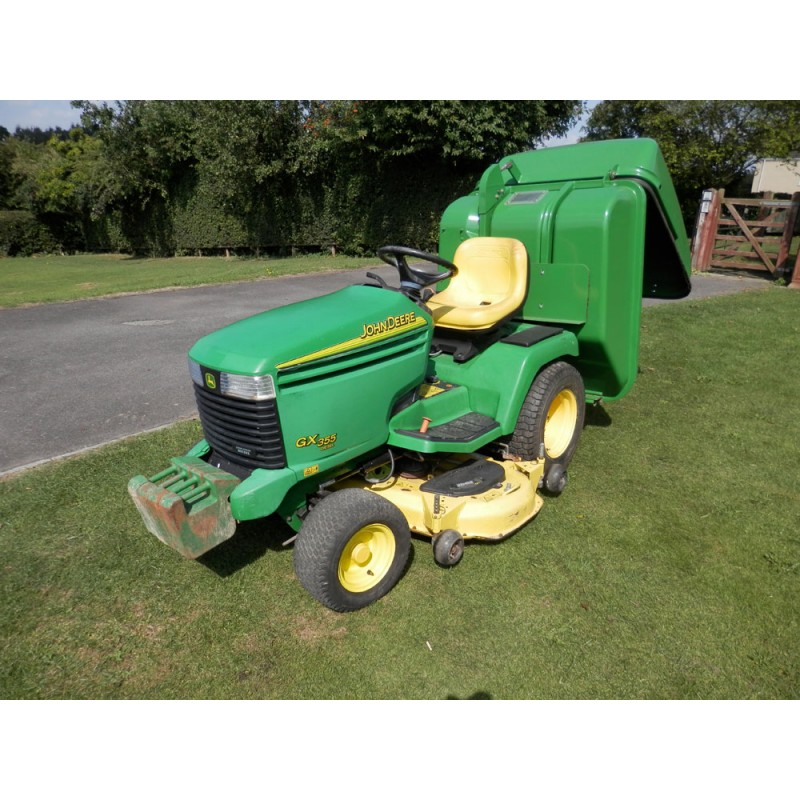 Used 2003 John Deere GX355 Ride On Rotary Mower For Sale