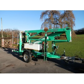 2006 Nifty Lift 120TDE Trailer Mounted 12 Meter Access Lift