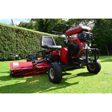 Saxon Triple LM180B Ride On Cylinder Mower