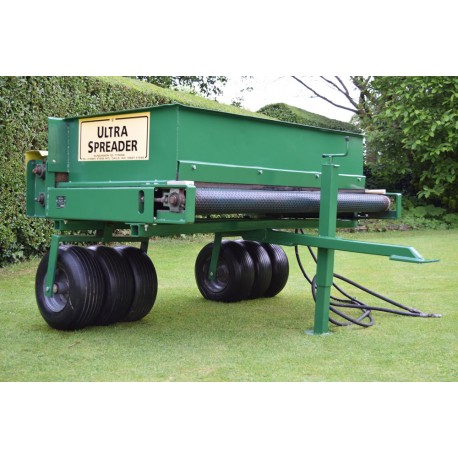 Towable Ultra Spreader UB50 Precision Drop Spreader Top Dresser
