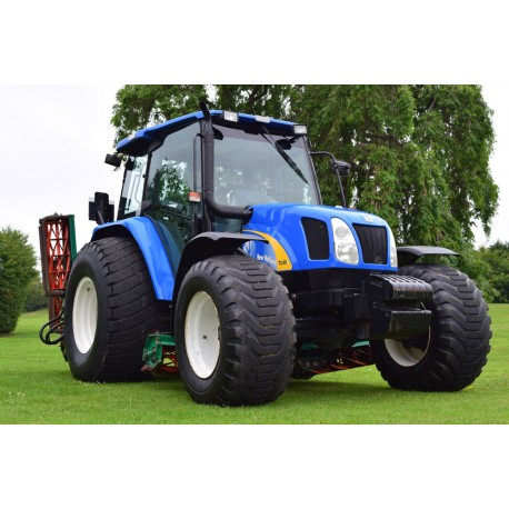 2006 New Holland TL90A Tractor With Ransomes 5/7 Gang Mower Unit