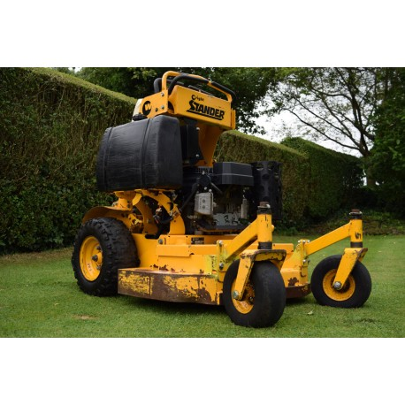 """Stand Behind Lawn Mower >> Sold Used 2007 Wright Stander 32"""" Zero Turn Stand On Rotary Mower"""