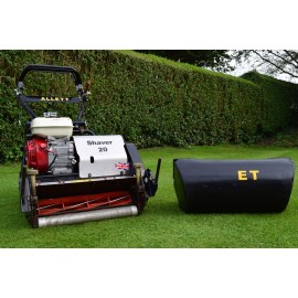 2012 Allett Shaver 20, 10 Blade Cylinder Mower With Grass Box