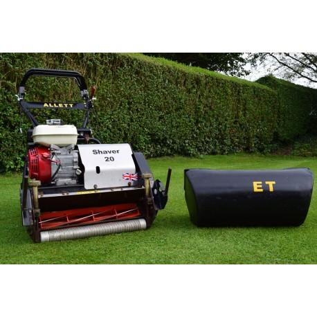 2012 Allett Shaver 20, 10 Blade Cylinder Mower With Grass Box