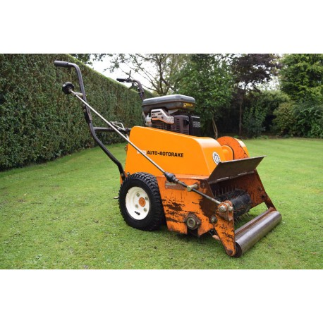Used Sisis Auto Rake Mk4 With Rolaspike Reel For Sale