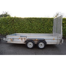 Indespension GT26126 Braked 12' x 6' Twin Axle Goods Trailer