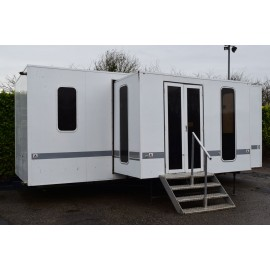 FourTec Pull Out Show Hospitality Exhibition Trailer