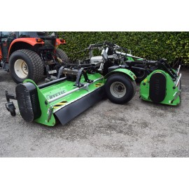 2014 Ryetec Triflex 5000 Trailed Flail Gang Mower 5 Meter Cut
