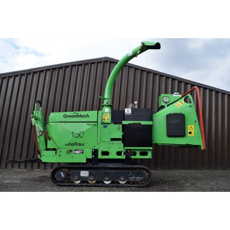"2014 GreenMech ArbTrak 150-35 6"" Tracked Chipper"