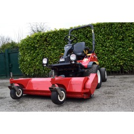 2012 Shibaura CM374 Ride On With Trimax Flail Mower