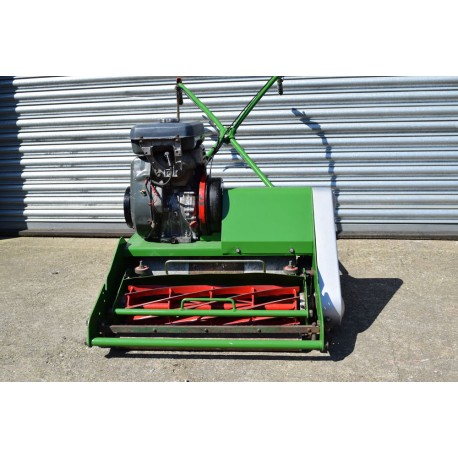 Used Dennis Ft510 9 Blade Cylinder Mower No Grass Box For Sale