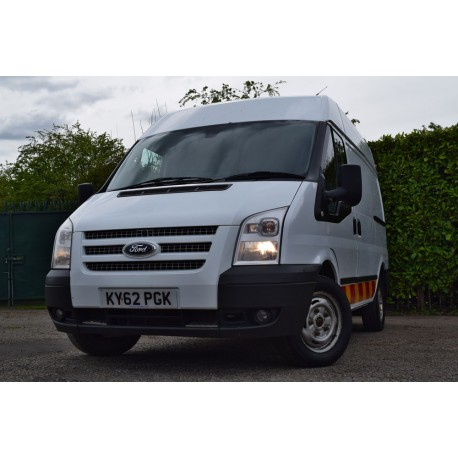 2012 Ford Transit T260 Trend FWD 2.2 125ps SWB Semi High Roof Panel Van
