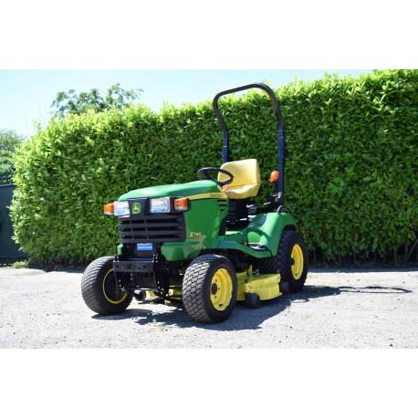 """2011 John Deere X749 4 Wheel Steer Garden Tractor With 52"""" Rotary Deck"""