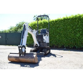 2009 Bobcat E10 1 tonne Mini Micro Digger With 2 Buckets