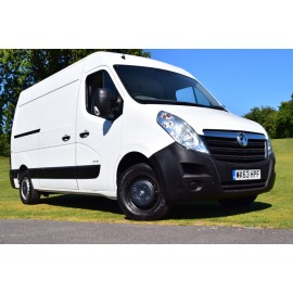 2013 Vauxhall Movano F3500 CDTI L2H2 Panel Van With Ramp, Winch And Washable Lining