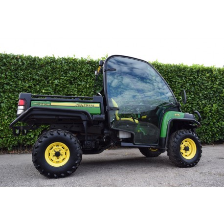 2013 John Deere Gator 855D Diesel Utility Task Vehicle With Cab