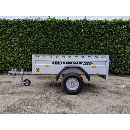 Humbaur 6' X 4' Single Axle Trailer G.V.W 750kg