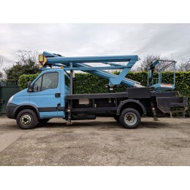 2008 Iveco Daily 65C18 With 16 Meter VM160 Niftylift Attached