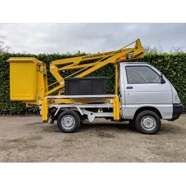 Piaggio Porter Micro Truck With VM8.75 9m Mounted Platform Access Lift