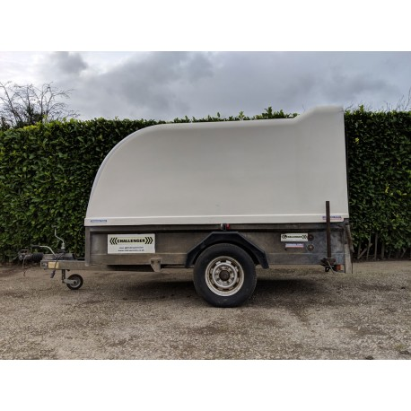 Indespension Challenger Single Axle 1300kg Box Trailer