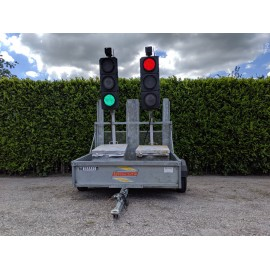 2010 Trailed SRL Radiolight 2way portable traffic lights