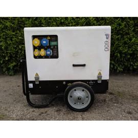 Pramac P6000S Super Silent 6Kva Diesel Generator With Trolley Kit