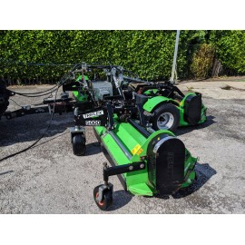 2013 Ryetec Triflex 5000 Trailed Flail Gang Mower 5 Meter Cut