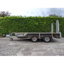Ifor Williams GX106 Twin Axle Plant Trailer G.V.W 3500kg