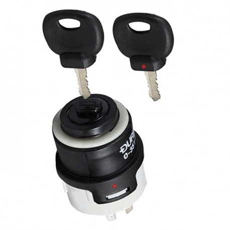 5 Position Water-Resistant Ignition Switch with 2 x Keys