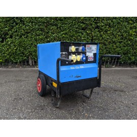 Stephill SSD6000 6.0 kVA Yanmar Super Silent Diesel Generator with Wheel Kit