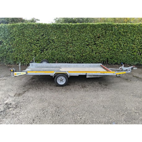 Brian James Clubman 185 Car Transporter Trailer Single Axle With Ramps