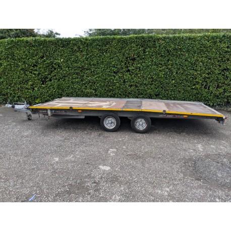 Brian James Twin Axle Car Transporter Trailer 3.5 Tonne 5m x 2m Bed